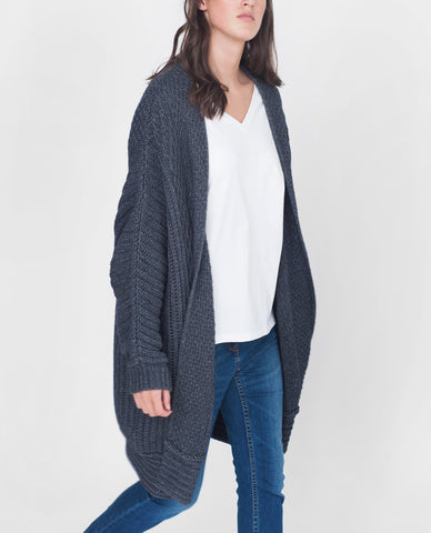 LUCINDA Wool And Cashmere Cardigan