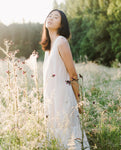 Madelyn-Paige Organic Cotton Dress In Off White & Bone