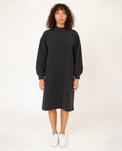 MARTA Organic Cotton Dress In Grey Marl