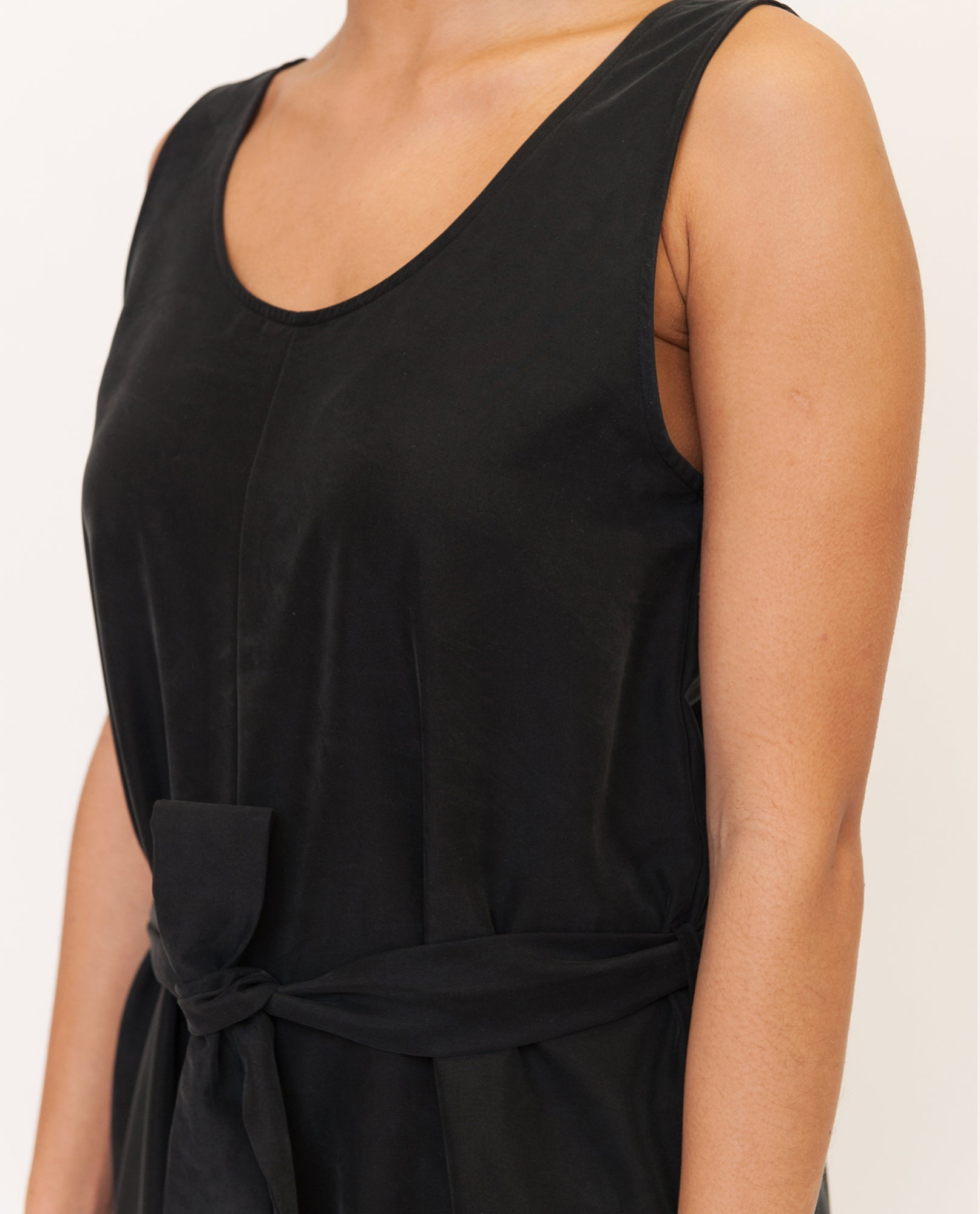 MARGARET Modal Jumpsuit In Black