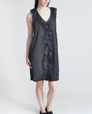 MARLA Organic Cotton Dress In Black