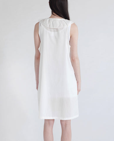 MARLA Organic Cotton Dress In White