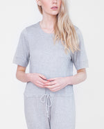 MAYA Lyocell And Cotton Jumpsuit In Light Grey