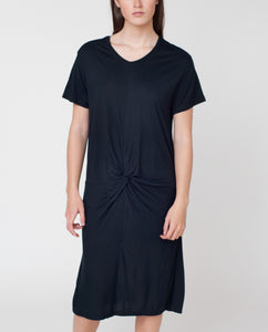 MEGAN Bamboo Dress In Black