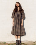 Meilani-Mel Organic Cotton Dress In Plaid