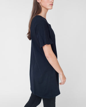 MIRA Organic Cotton Tshirt In Navy