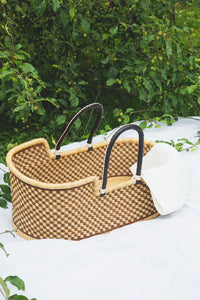 Handwoven Moses Basket.