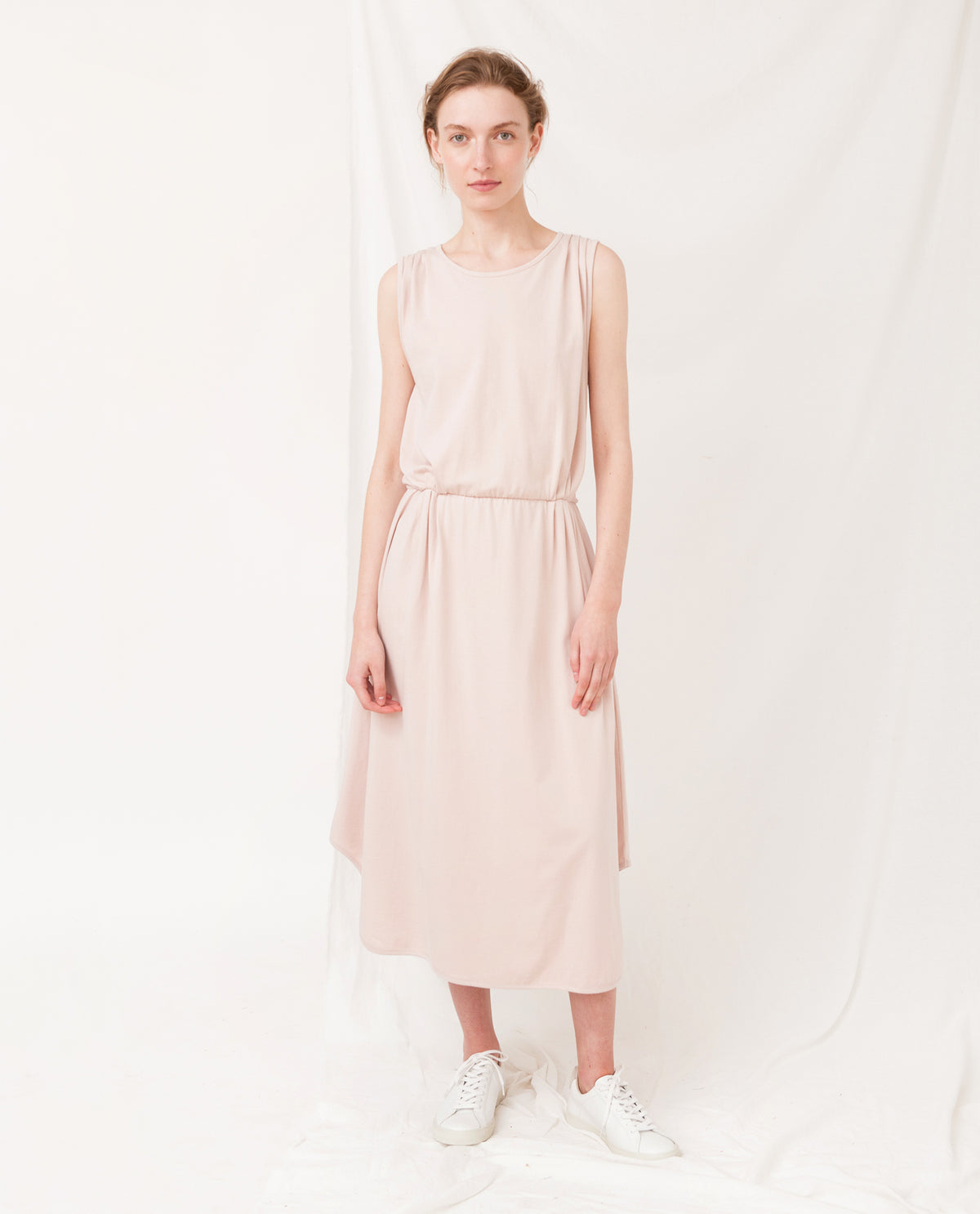 MULBERRY Organic Cotton Dress In Pink