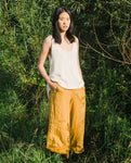 Nicole-May Linen Trouser In Sun