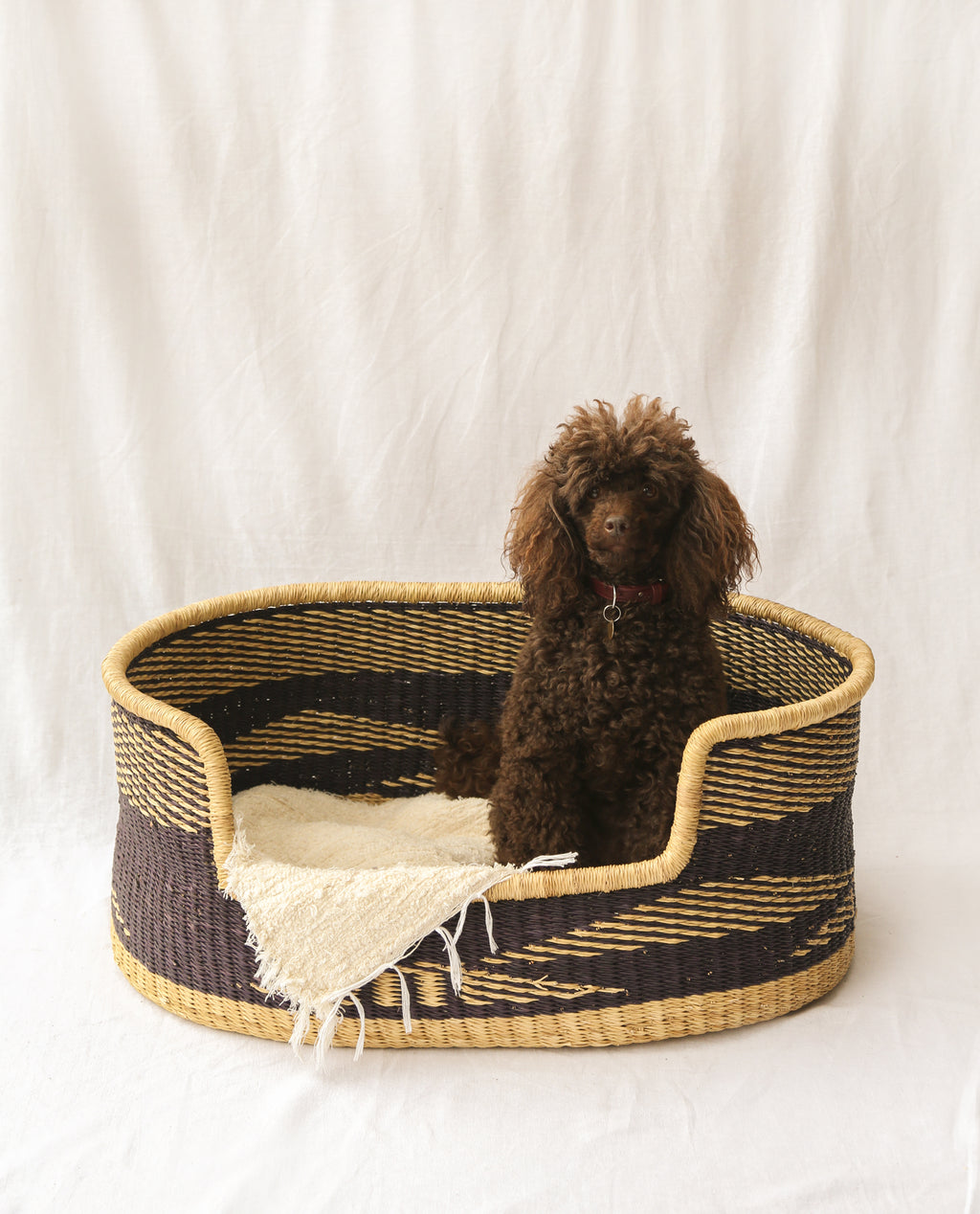 NANDI Handwoven Dog Basket