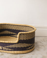 NANDI Handwoven Small Dog Basket