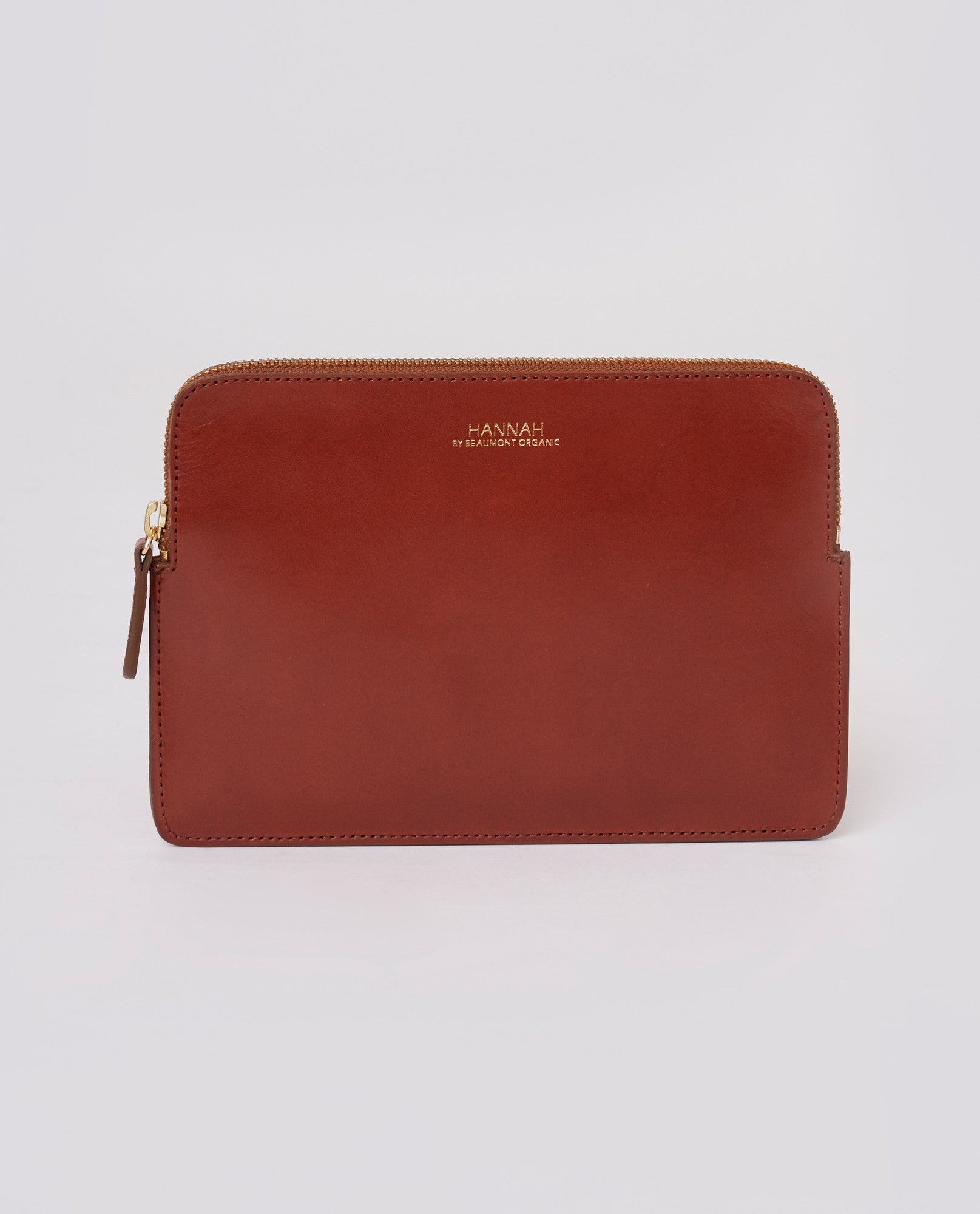 NAPLES Leather Purse In Tan
