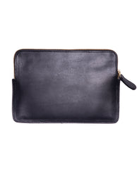 NAPLES Leather Purse In Black