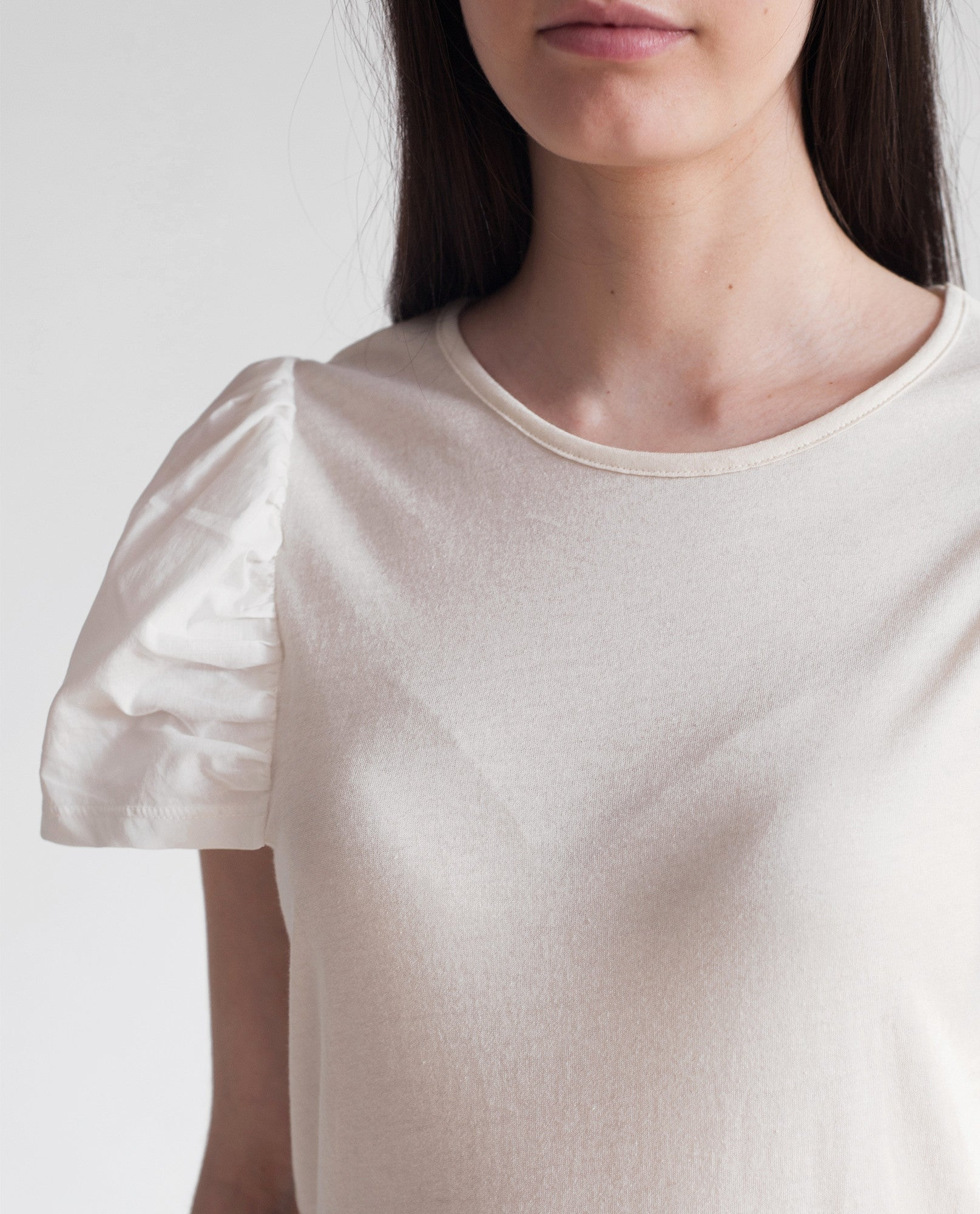 NIA Organic Cotton Top In Natural