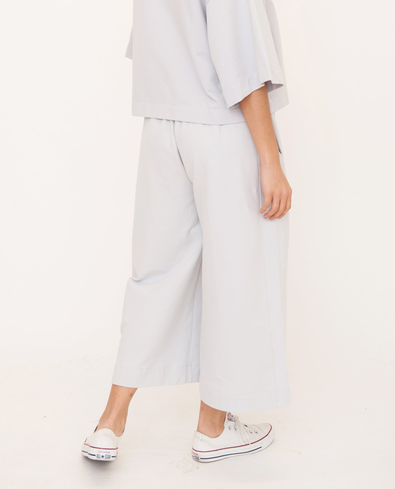 NICKY Organic Cotton Trouser In Grey