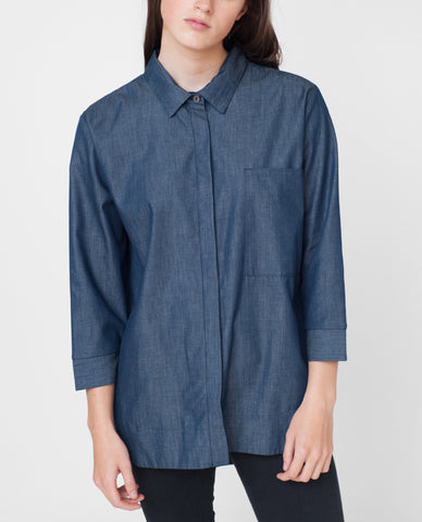 NORA Cotton Chambray Shirt