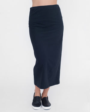 PAM Organic Cotton Skirt In Black