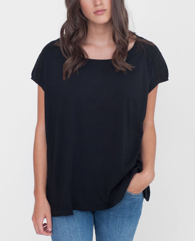 REESE Organic Cotton And Linen Top