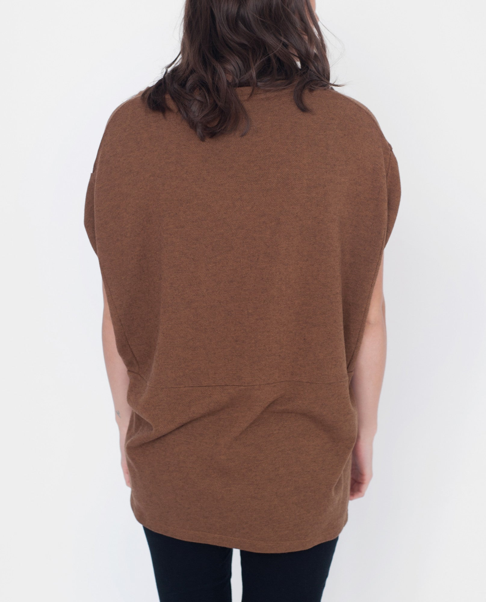 REID-MAY Lyocell And Wool Top from Beaumont Organic