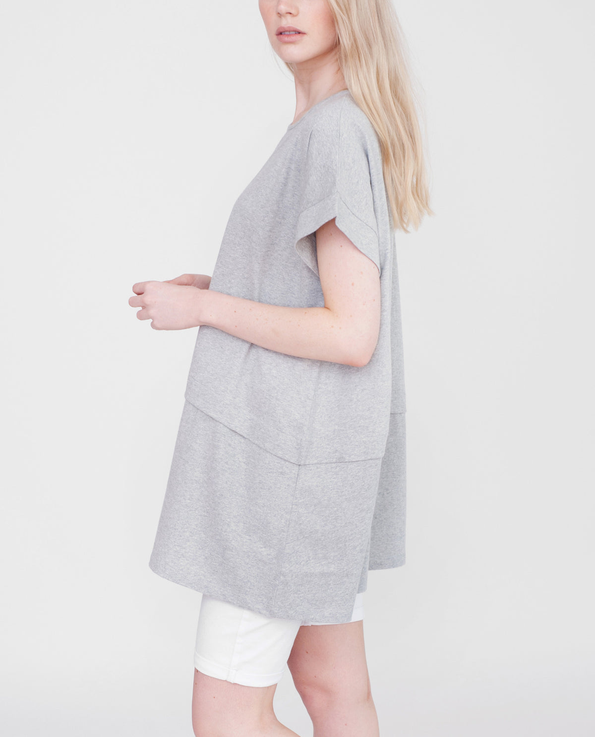 RILEY Organic Cotton Tunic Top