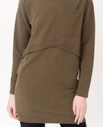 SAM Organic Cotton Dress In Khaki