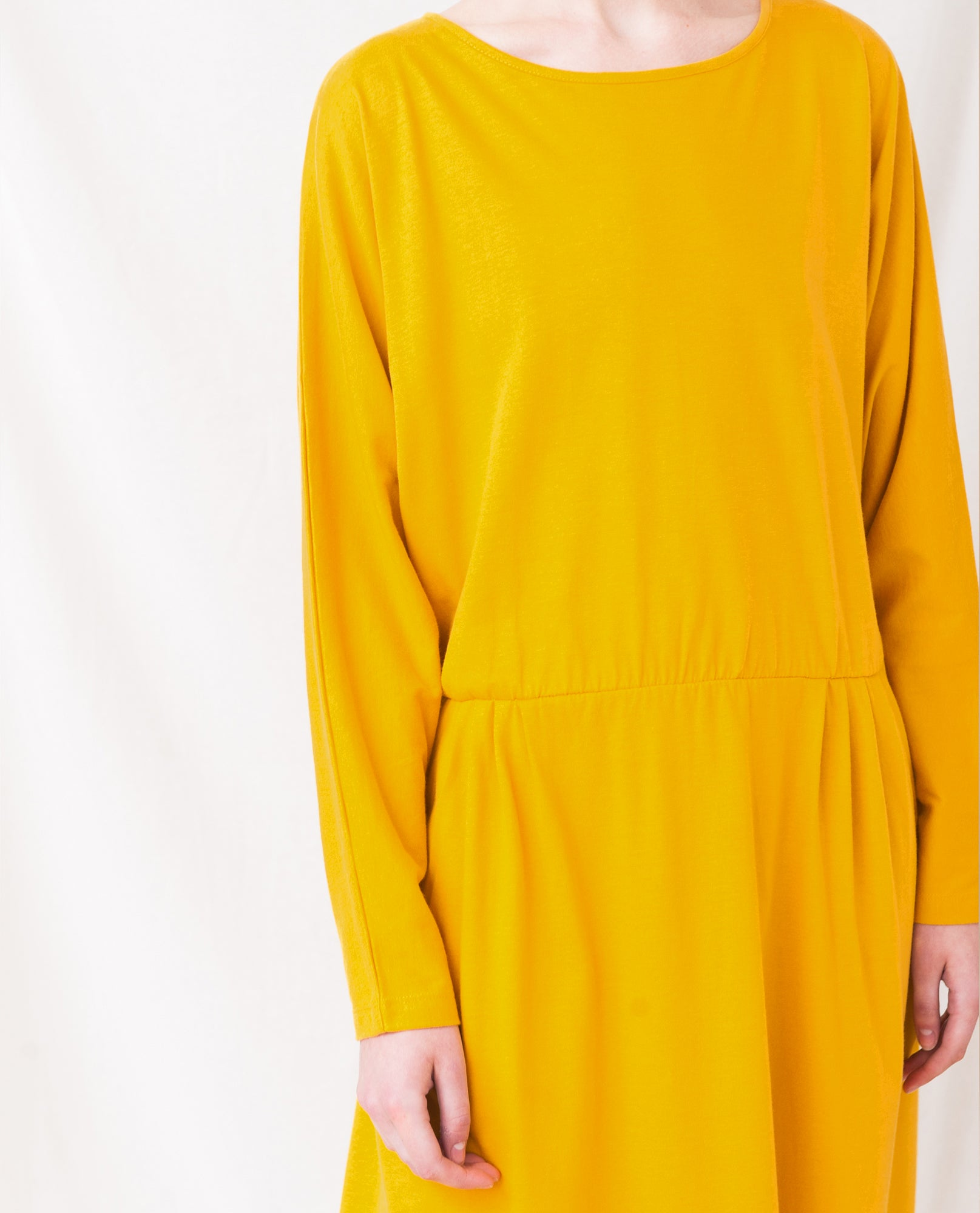 TALITA Organic Cotton Dress In Turmeric