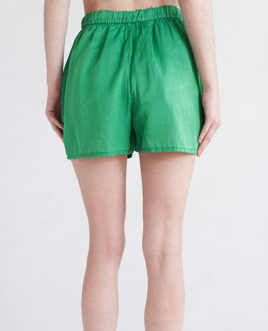 TANSY Cotton And Silk Shorts