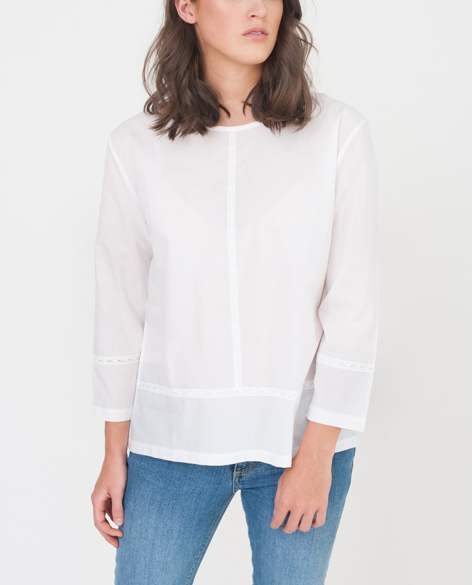 TAYLOR Organic Cotton Blouse from Beaumont Organic