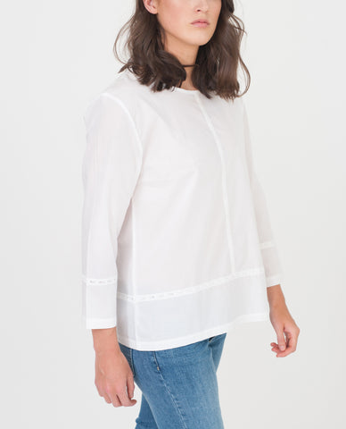 TAYLOR Organic Cotton Blouse