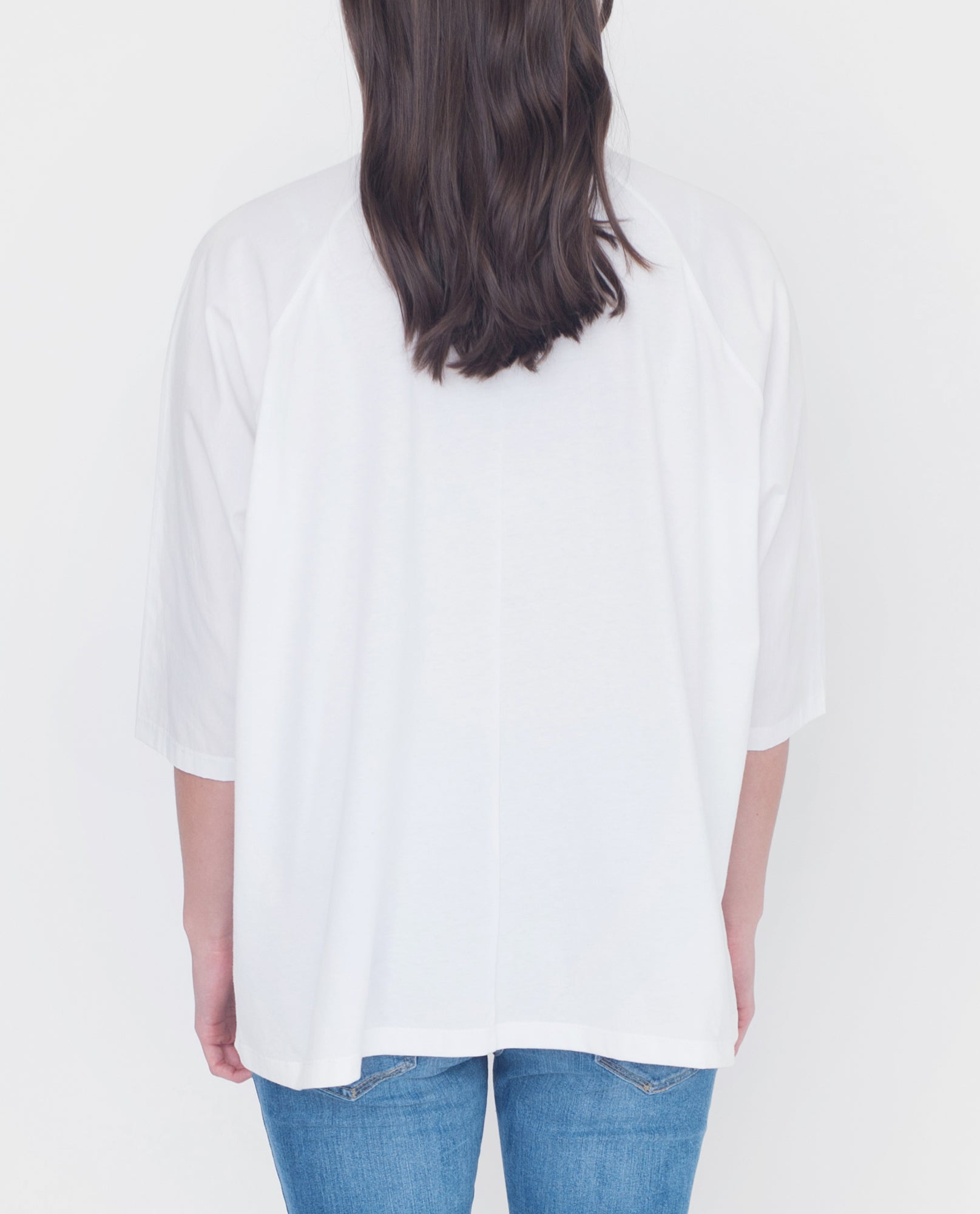 TERRY Organic Cotton Shirt In White