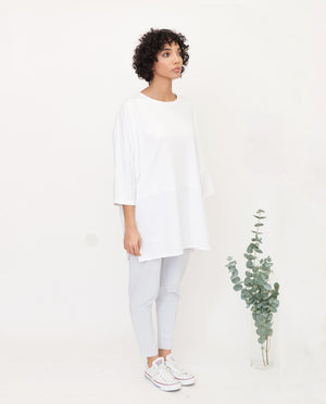 VALERY Organic Cotton Top In White