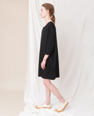 VERA Organic Cotton Dress In Black