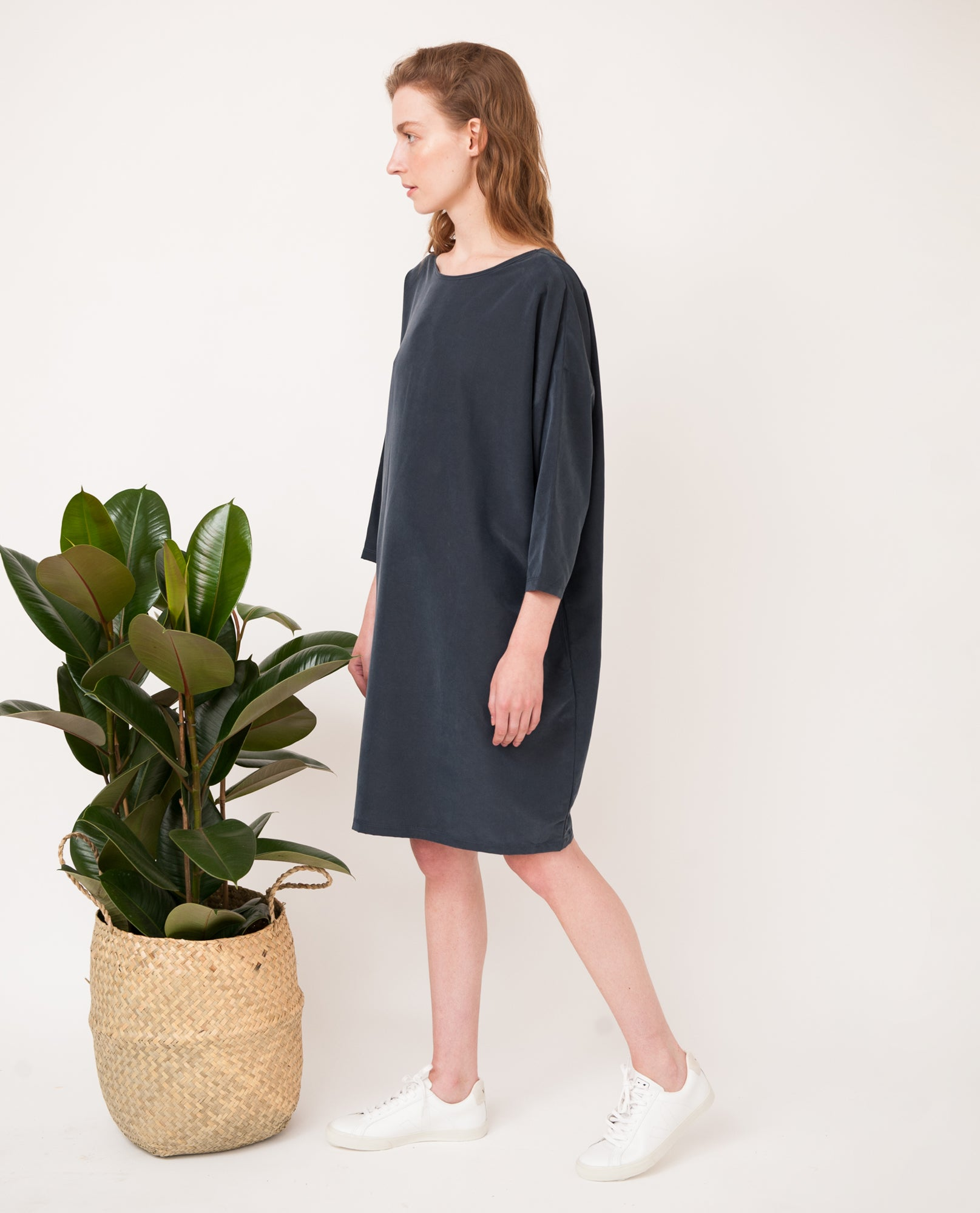 VERA-MAY Modal Dress In Navy