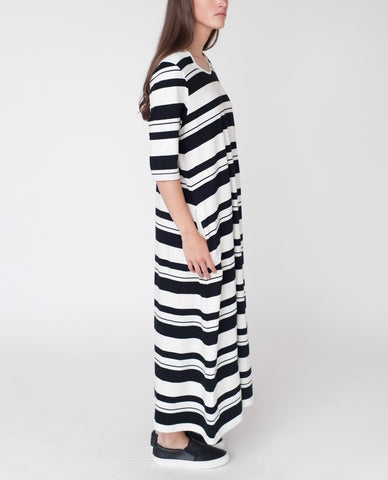 VICTORIA Organic Cotton Maxi Dress
