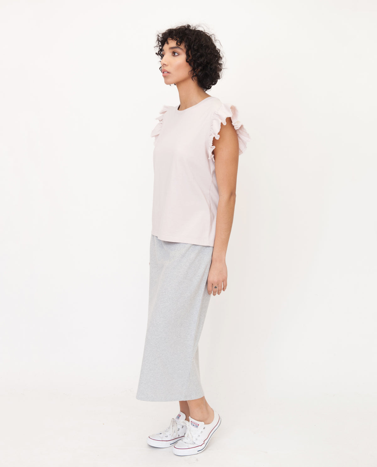 ZOOEY Organic Cotton Top In Pink