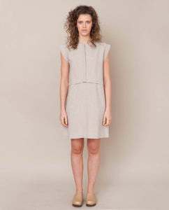 Adele Linen Dress In Natural
