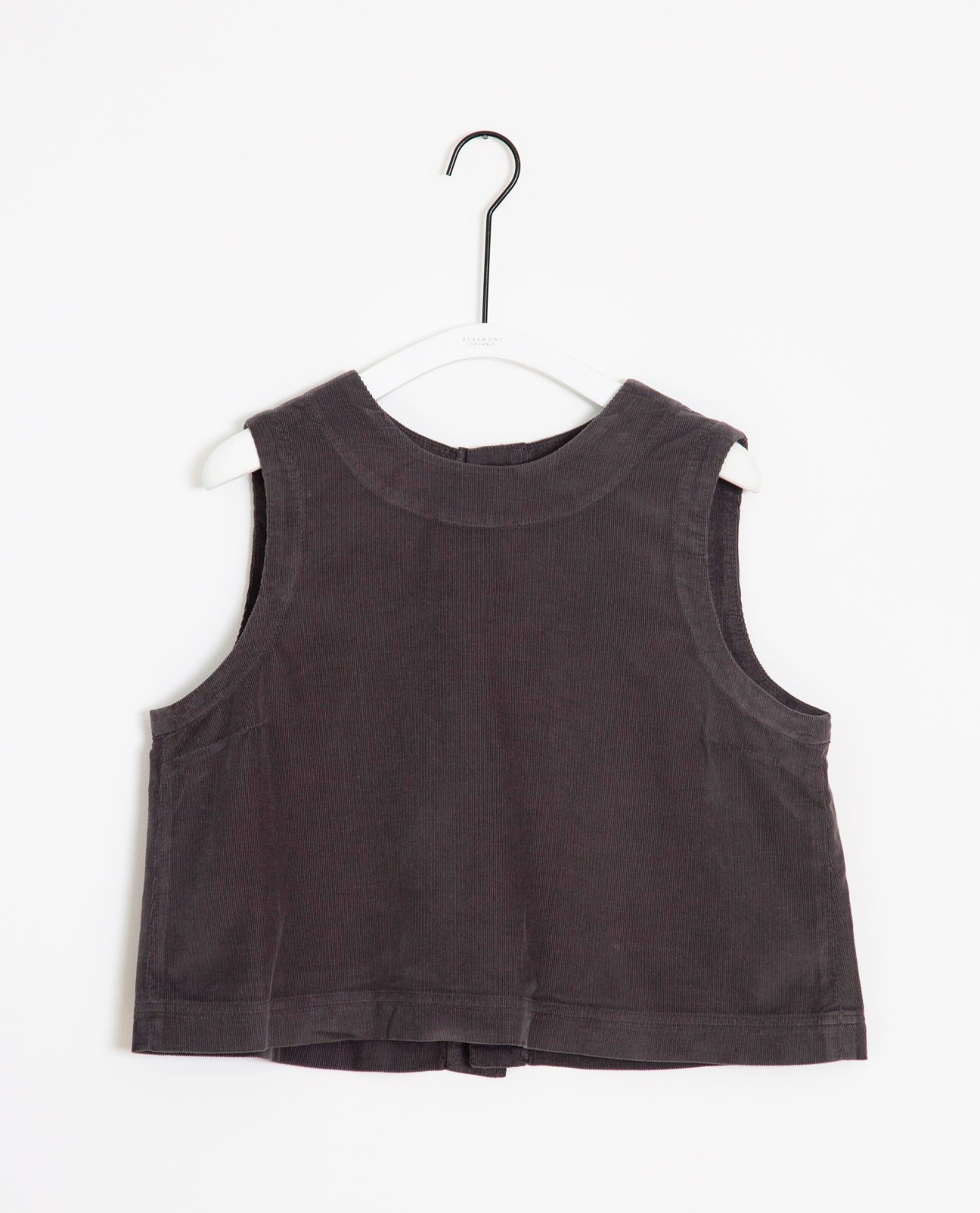 Alber Organic Cotton Top In Slate
