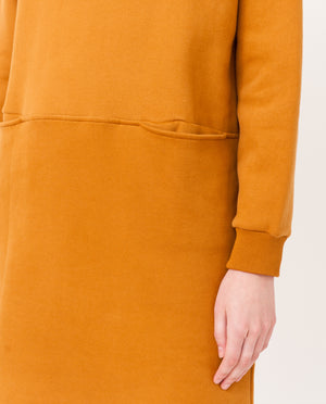ALEXIS Organic Cotton Dress In Rust