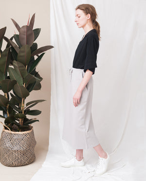 ANA Organic Cotton Skirt In Flint