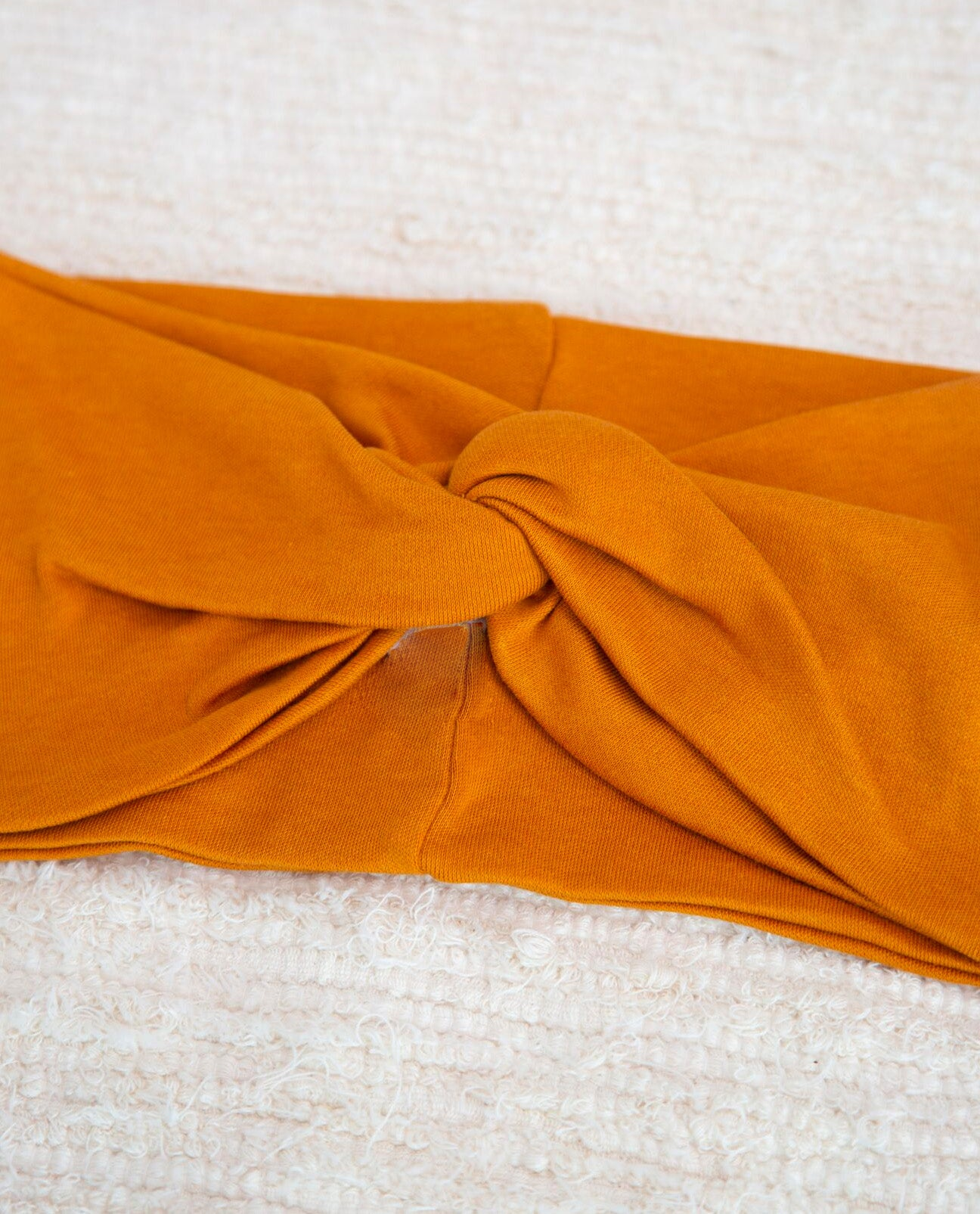 Anjalina-Jane Organic Cotton Headband In Bronze
