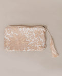 Gauri Organic Cotton Vanity Bag In Cream Print