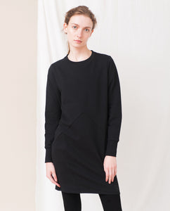 ELLIOT Organic Cotton Dress In Black