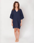 Bee-May Linen Dress In Midnight