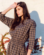 Bellamy-Mel Organic Cotton Dress In Plaid