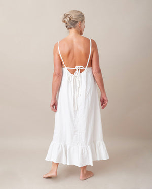 Belmira Organic Cotton Dress In Off White