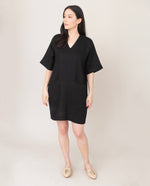 BIA Linen Dress In Black