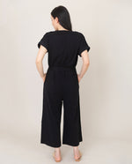 ROSANNA Organic Cotton Jumpsuit In Black