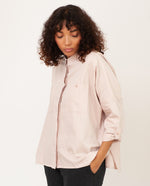 CRISTINA-LOU Premium Organic Cotton Shirt In Light Rose