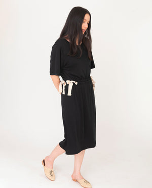 CLEO Lyocell Dress In Black