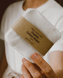 Organic Cotton Wipes